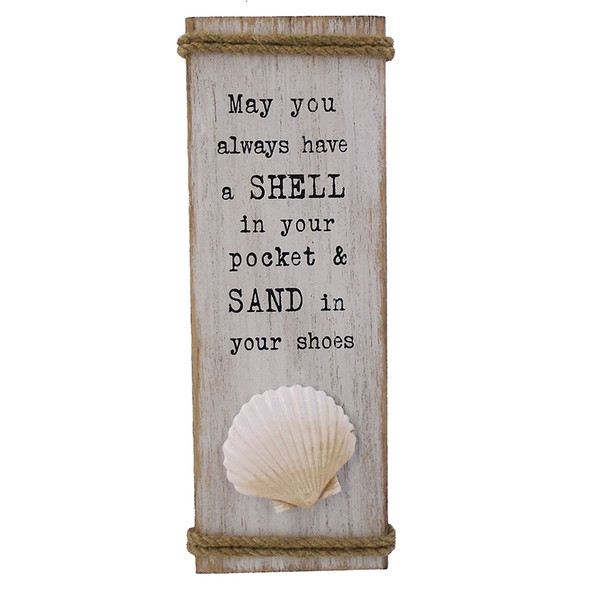 Shell in Your Pocket Sign