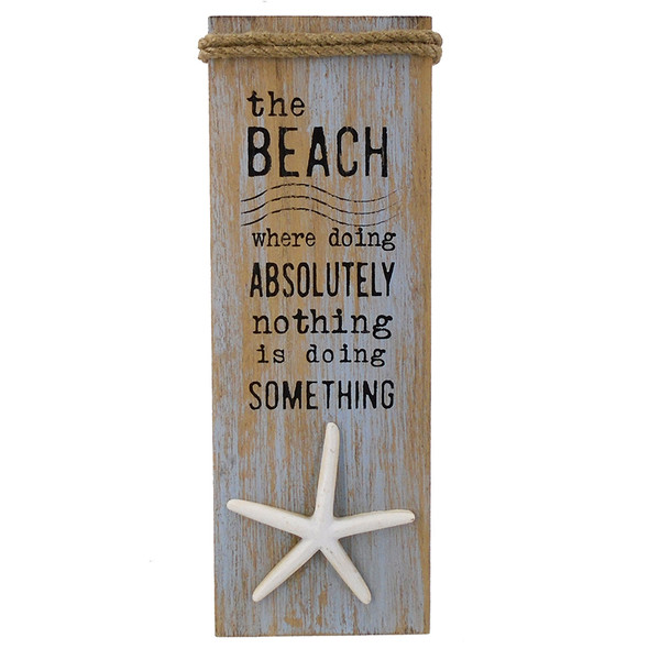 The Beach Wall Plaque