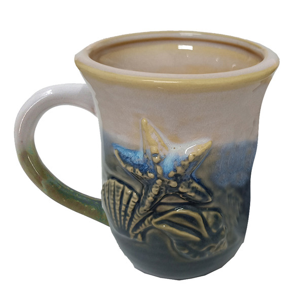 Blue Seashells Mug