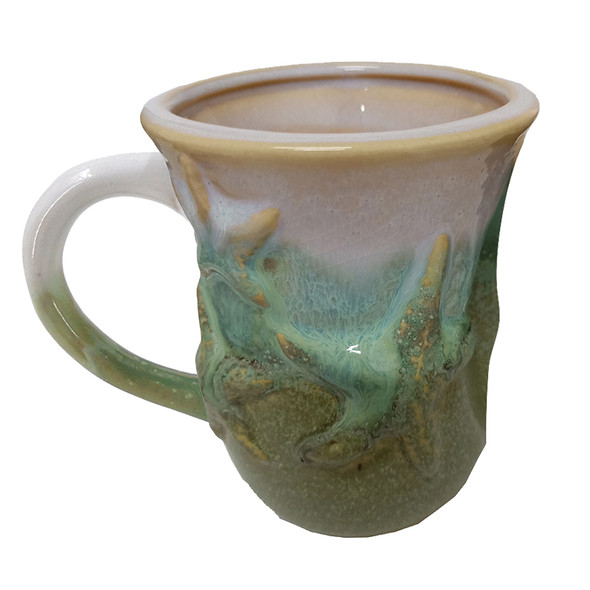 Green Starfish Mug