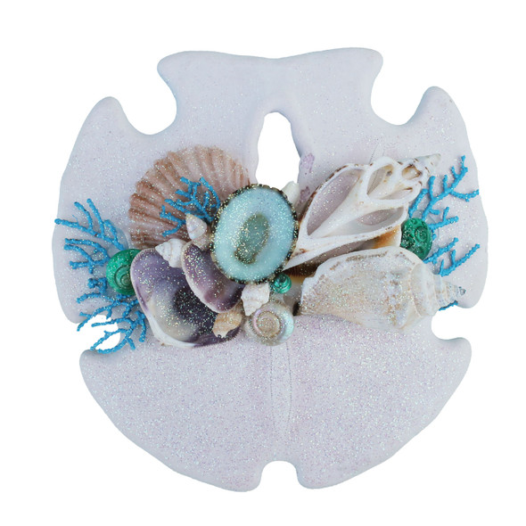 Light Blue Sea Fan Sand Dollar Magnet