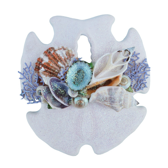 Lavender Sea Fan Sand Dollar Magnet