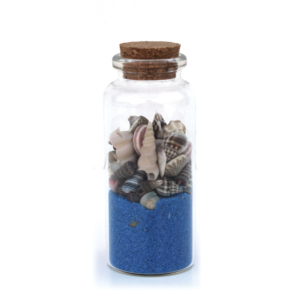 Cobalt Sand Bottle Magnet