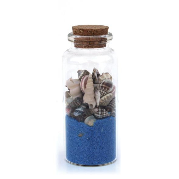 Cobalt Sand Bottle Magnet
