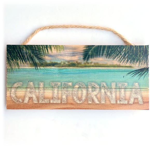 California Rope Sign