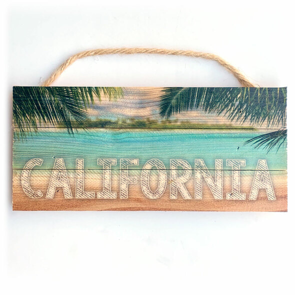 California Rope Sign