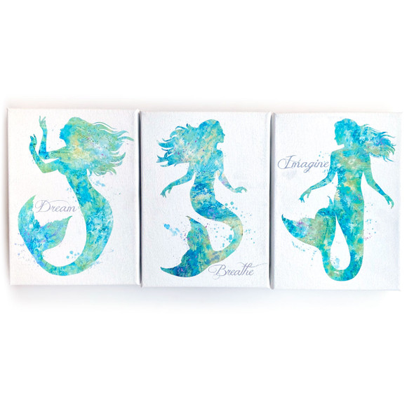 Mermaid Canvas Set