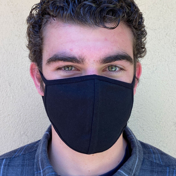 Black Reusable Face Mask