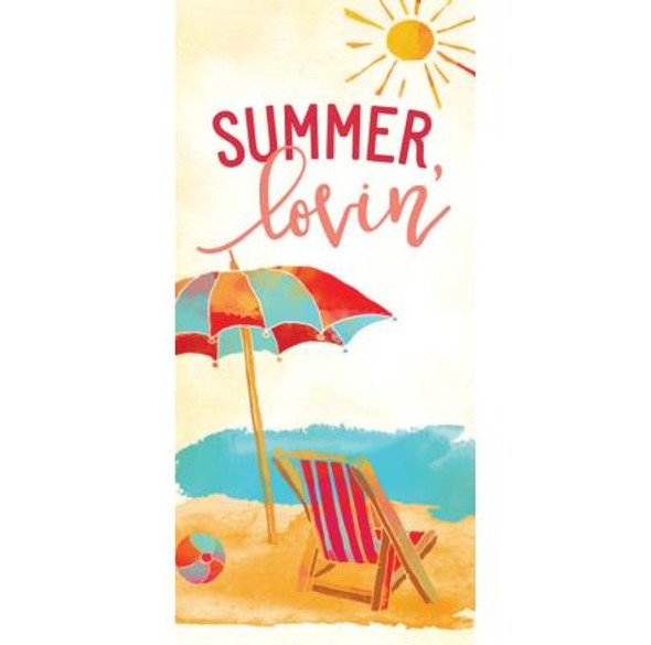 Summer Lovin' Tabletop Block Sign