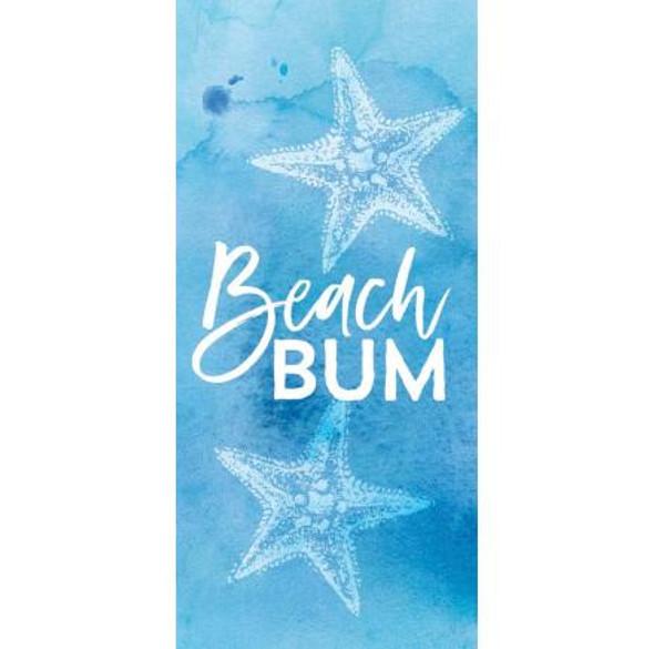 Beach Bum Tabletop Block Sign
