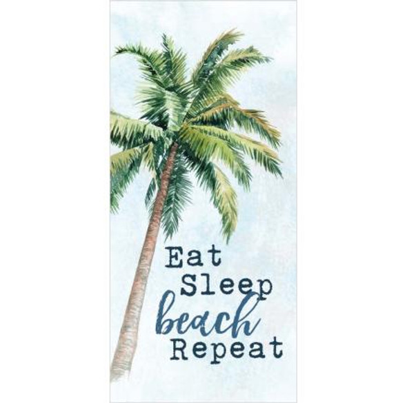 East Sleep Beach Repeat Tabletop Sign