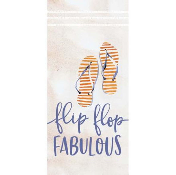 Flip Flop Fabulous Tabletop Sign