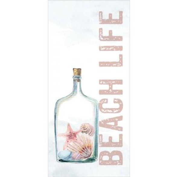 Beach Life Tabletop Block Sign