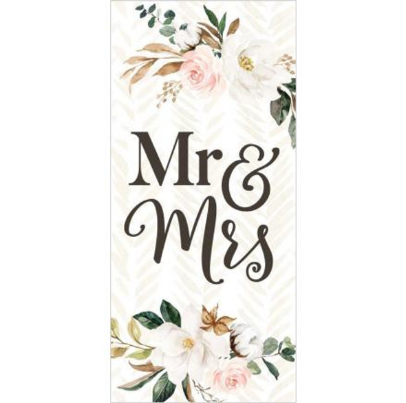 Mr &  Mrs Tabletop Sign
