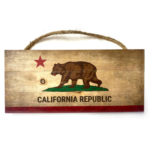 California Republic Rope Sign