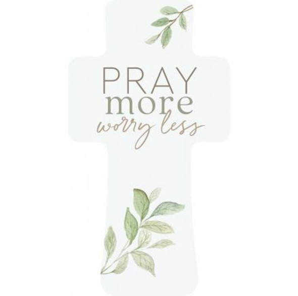 Pray More Cross