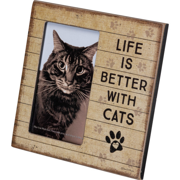 Life is Better with Cats Frame