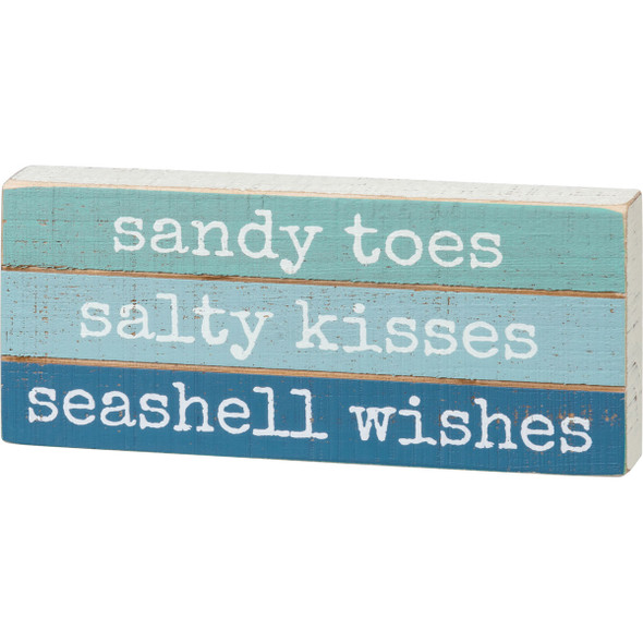Sandy Toes Seashell Wishes