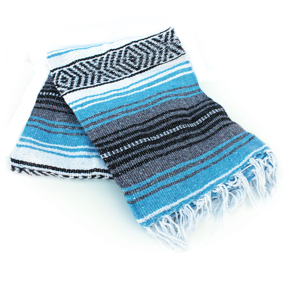 Light Blue Beach Blanket