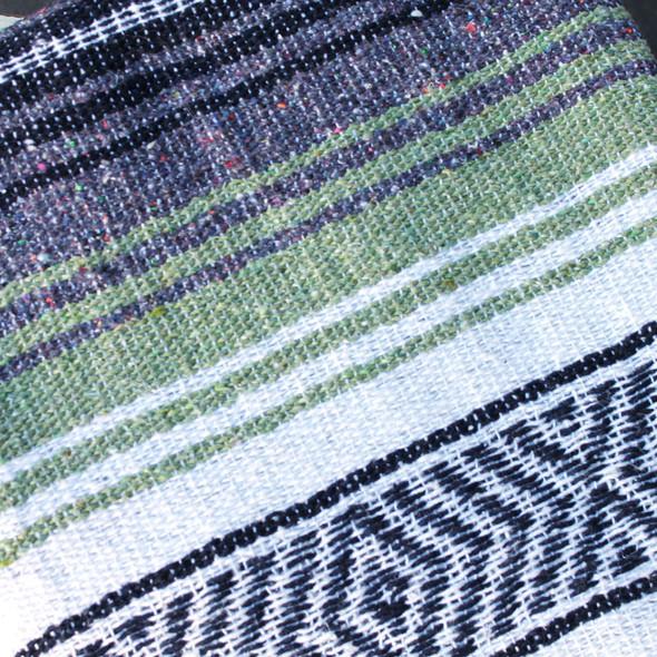 Light Green - Beach Baja Throw Blanket