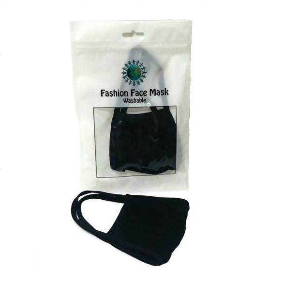 Black Fashion Mask