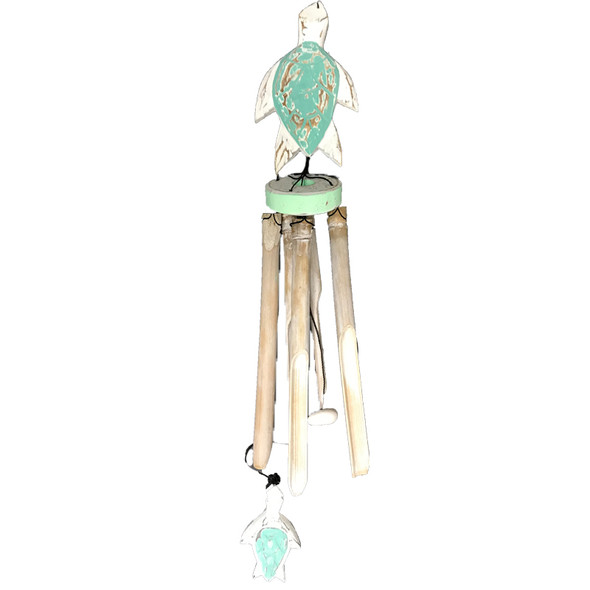 Sea Turtle Bamboo Wind Chime