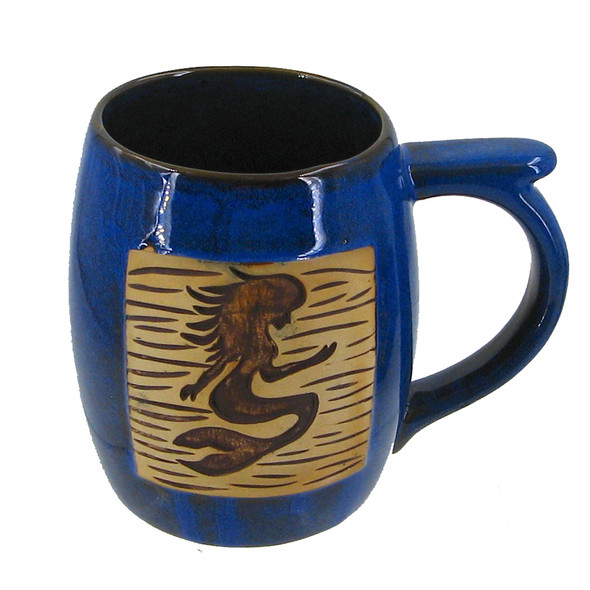 Stoneware Mermaid Mug