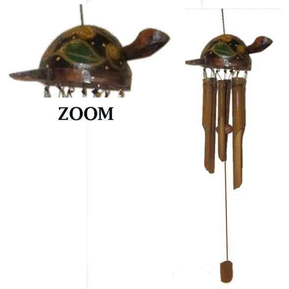 Turtle Bamboo Wind Chime