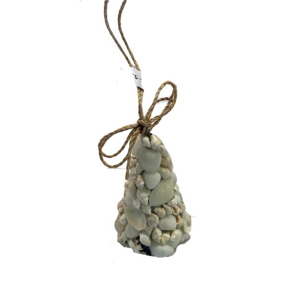 White Shell Ornament