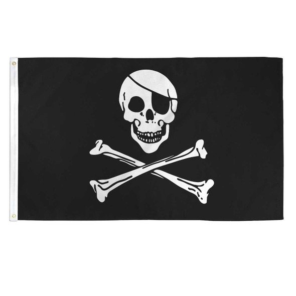 Pirate Skull and Cross Bones Flag