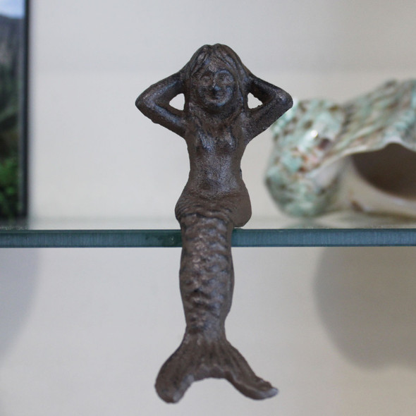 Brown Mermaid Ledge Sitter