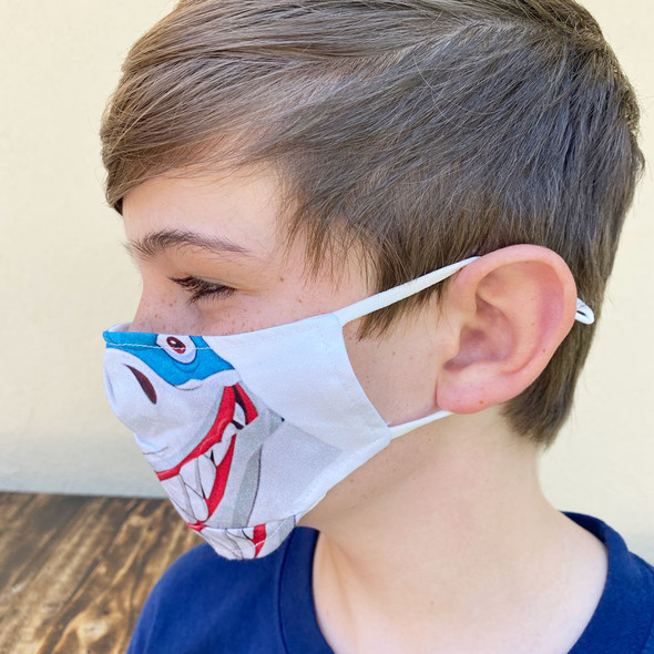 Shark Mask Side View
