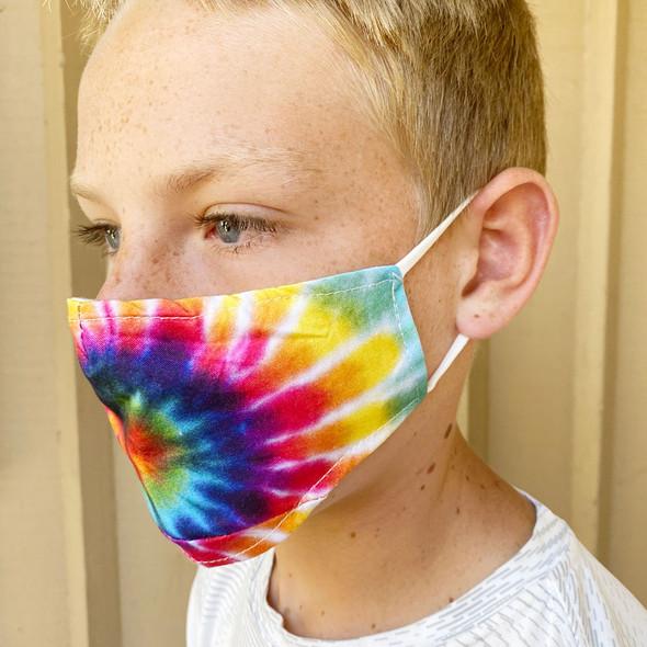 Kids Tie Dye Masks