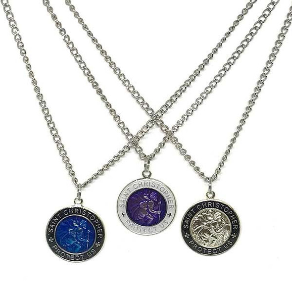 St. Christopher chain necklace