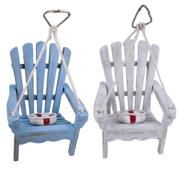 Beach Chair Christmas Ornaments