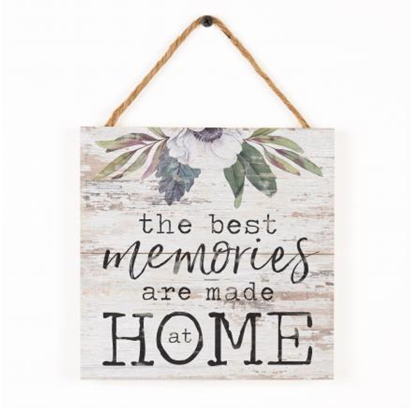 Memories Made at Home Sign