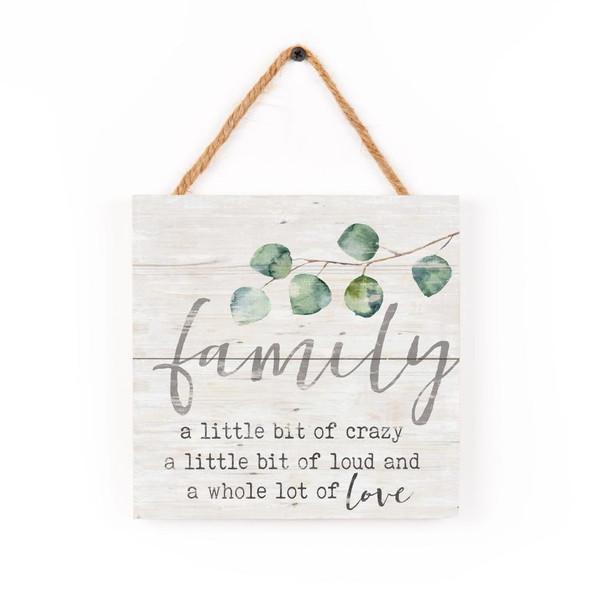 Family Rope Sign
