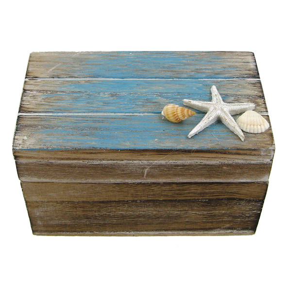 Weathered Wood Box