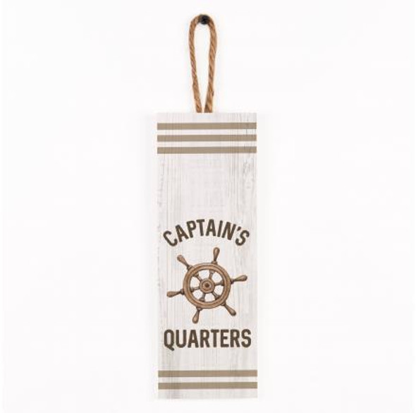 Captain's Quarters Vertical Sign