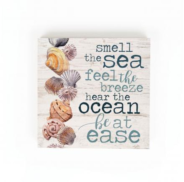 Smell the Sea Chunky Sign