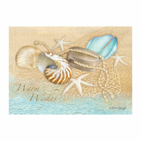 Sea Treasures Christmas Cards