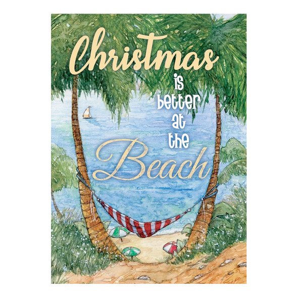 Beach Hammock Christmas Cards