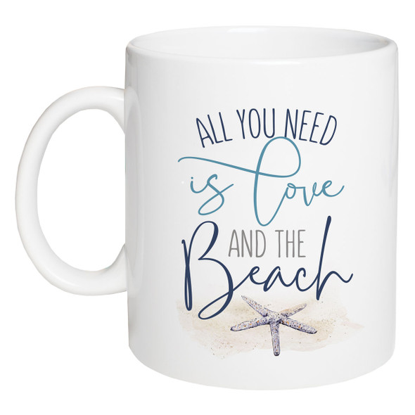 All You Need is Love and the Beach Mug