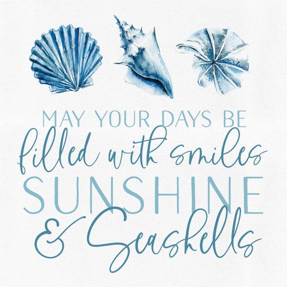 Smiles, Sunshine & Seashells Canvas