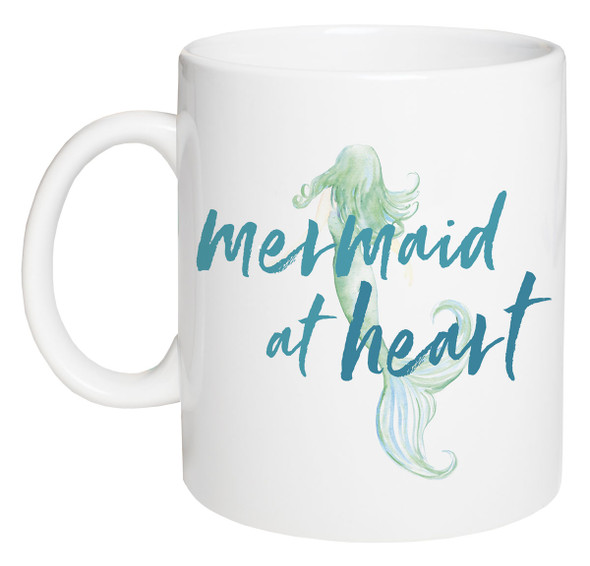 Mermaid at Heart Coffee Mug