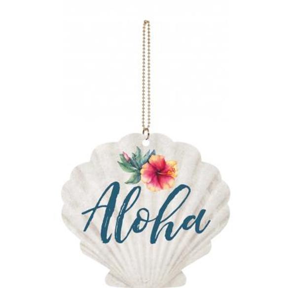 Aloha Scallop Shell Charm