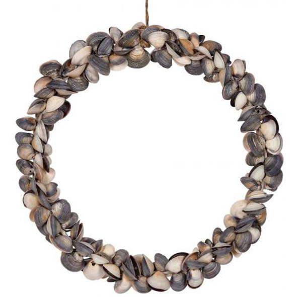 Mixed Cay Cay Shell Wreath