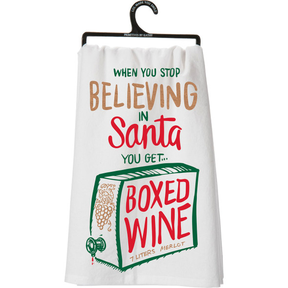 Boxed Wine Towel
