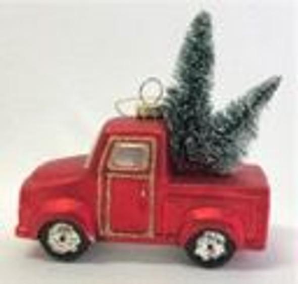 Red Truck Ornament