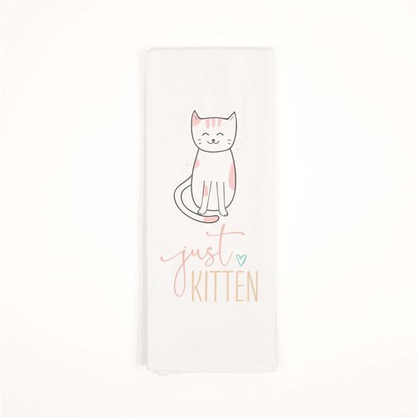 Just Kitten Tea Towel